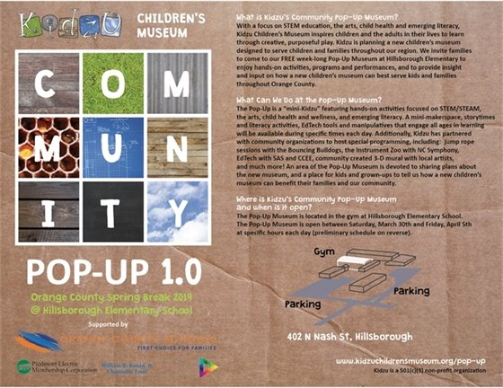Community Pop-Up