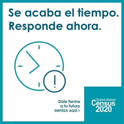 Complete the 2020 Census!