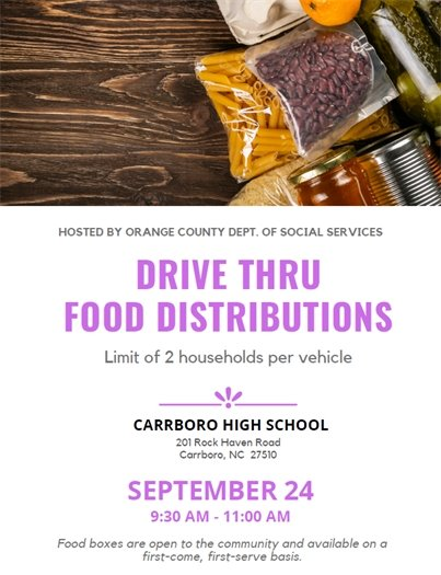 Food Distribution in Orange County