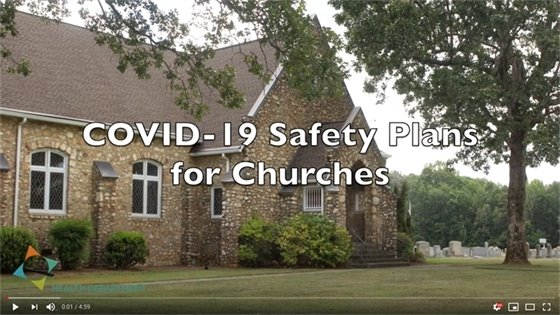 COVID-19 Safety Plans for Churches