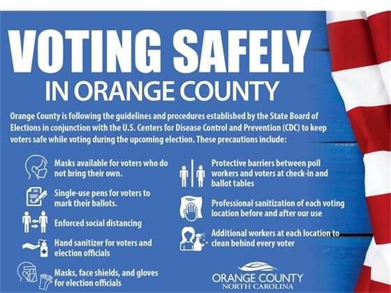 Voting Safely in Orange County