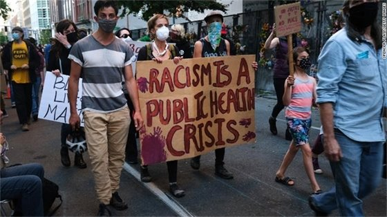States are calling racism a public health crisis. Here's what that means