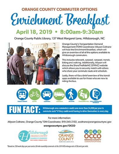 enrichment breakfast flyer