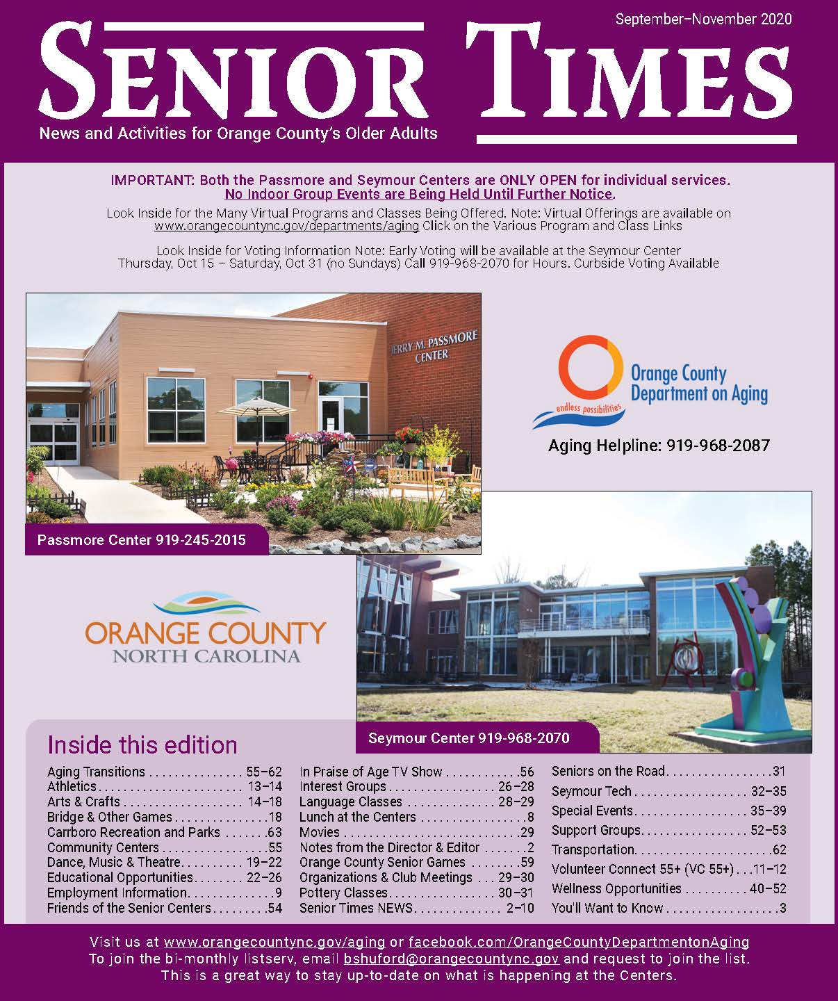 Senior Times_Fall_2020 Opens in new window
