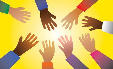 POC Caucus hands