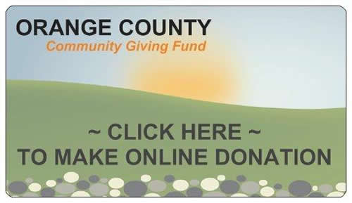 Orange County Community Giving Fund Donation Button