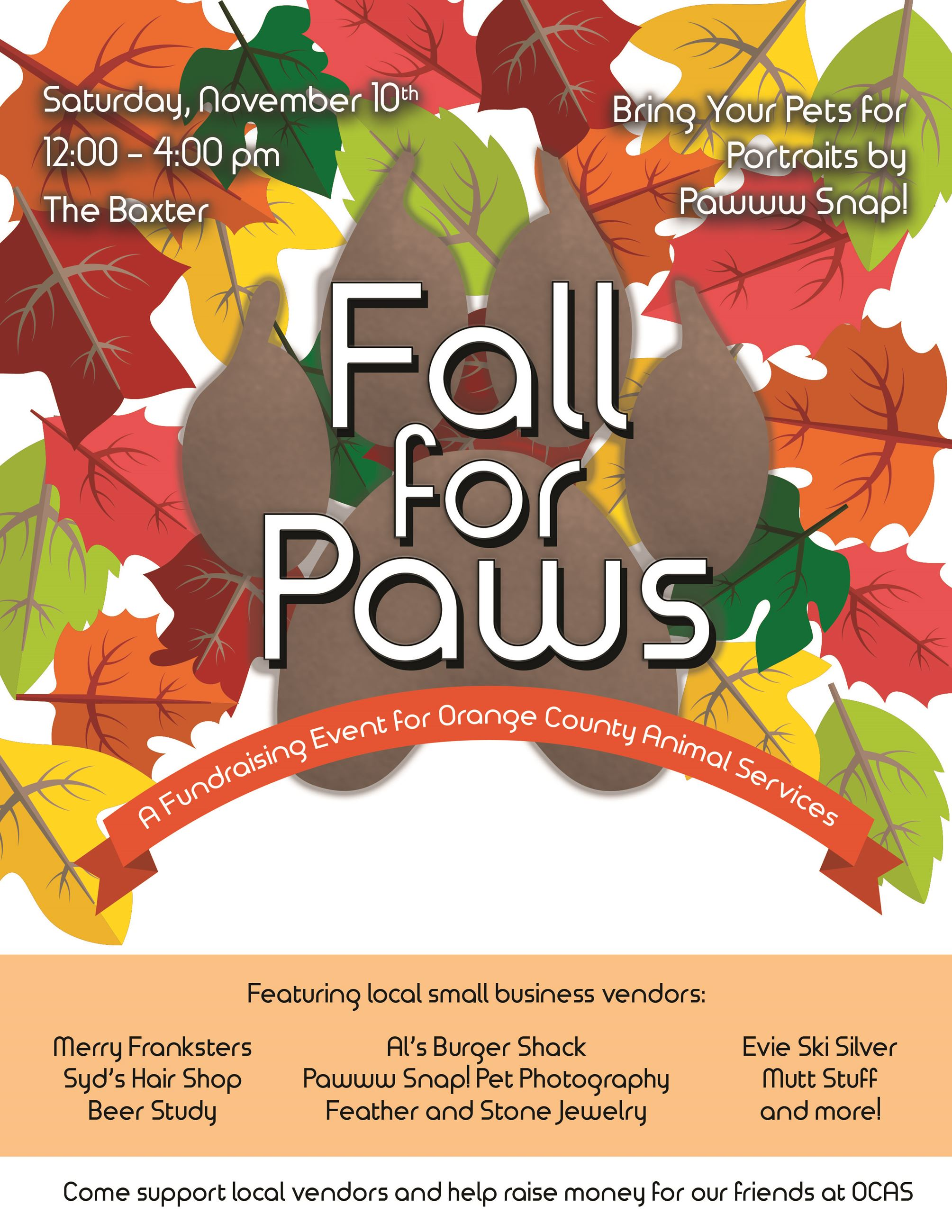 Chapel Hill Nc 27516 Fall For Paws