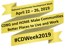 Community Development Week logo