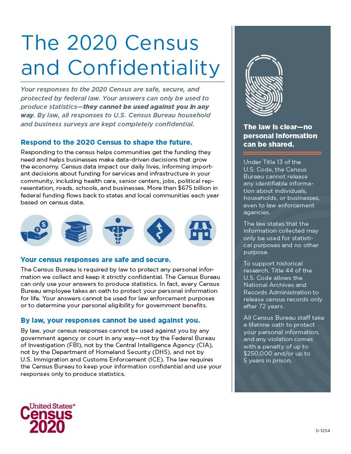 Census Confidentiality graphic