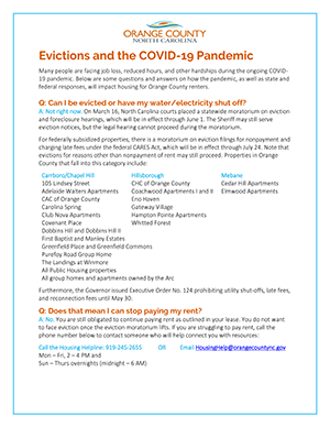 Evictions during Pandemic - Tenant Info-small