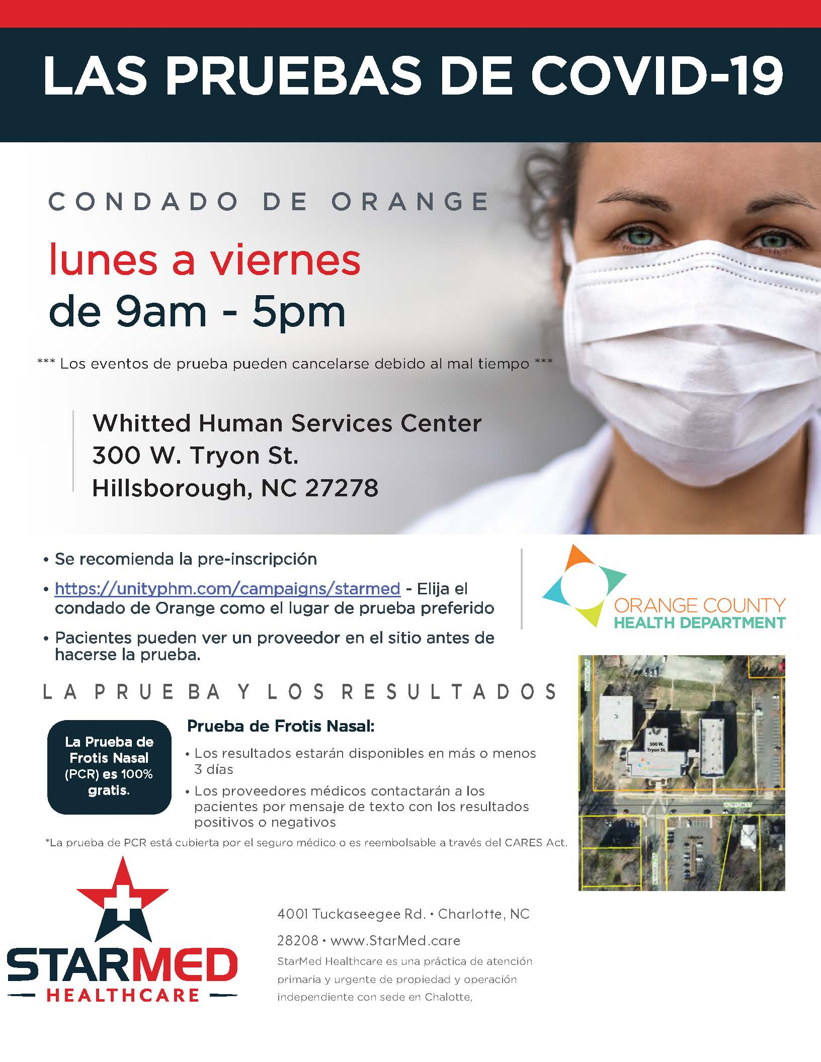 SM_Covid19Flyer_OrangeCountyHD_WeekdayTesting_SPANISH Opens in new window