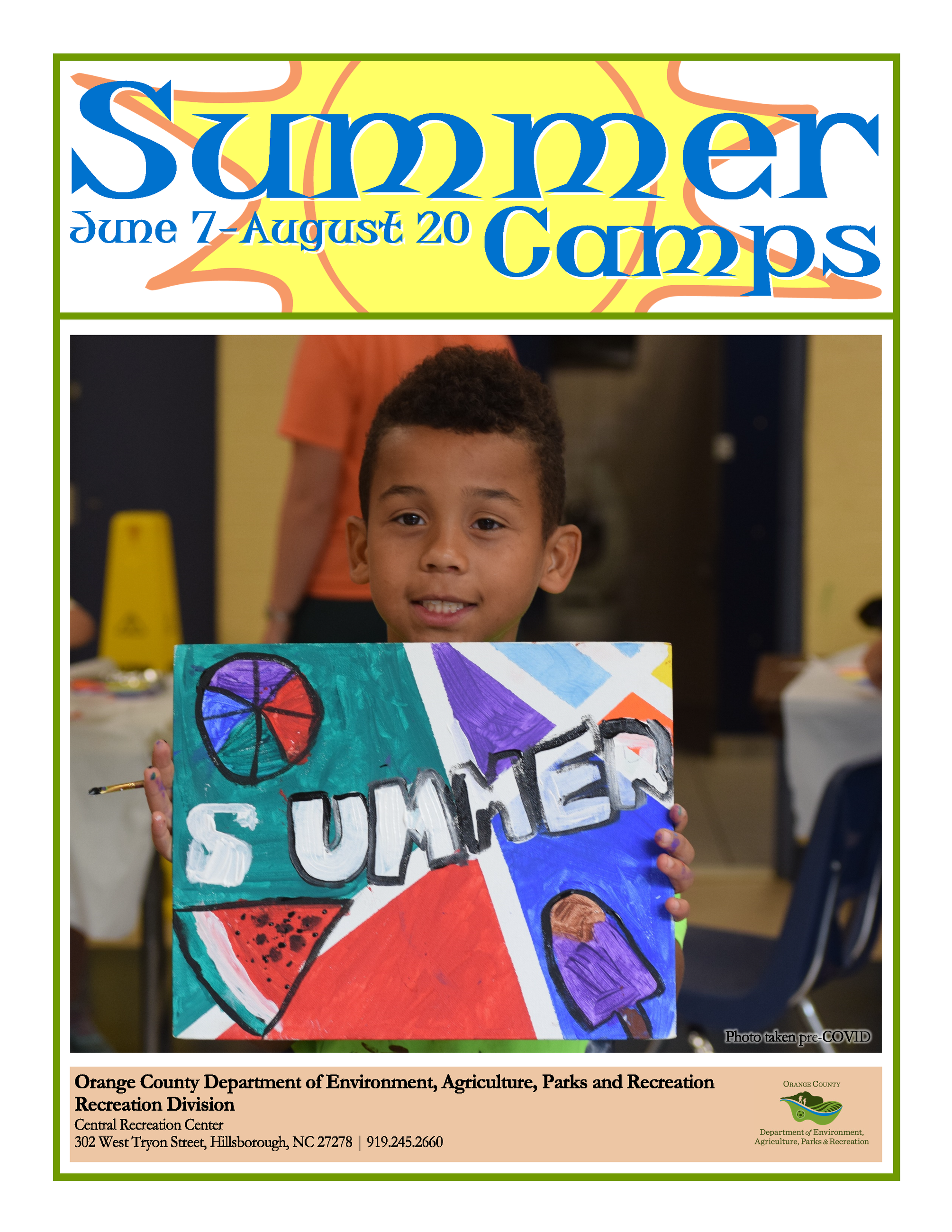 Summer Camp Guide 2021 Opens in new window